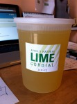 FINISHED LIME CORDIAL
